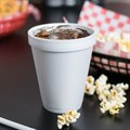 10OZ WHITE FOAM POLYSTYRENE DISPOSABLE CUPSAlternative Image1