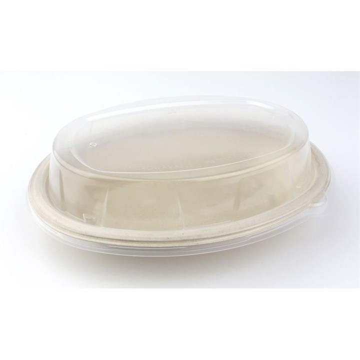 Burrito Oval Pulp Bowl & Lid Combo