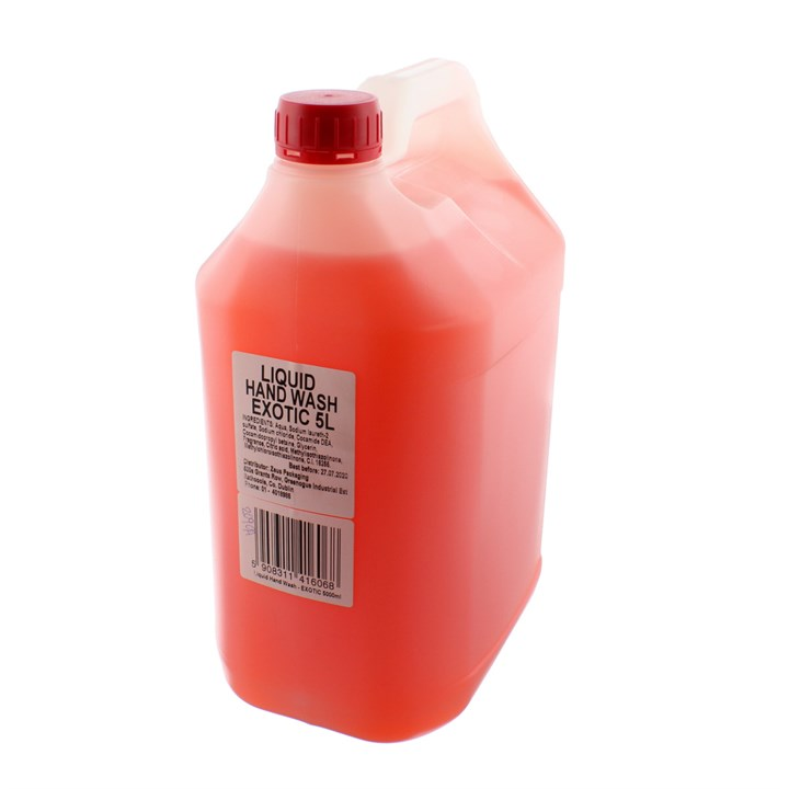 Bulk Pack Pink Liquid Hand Soap 5 Litre