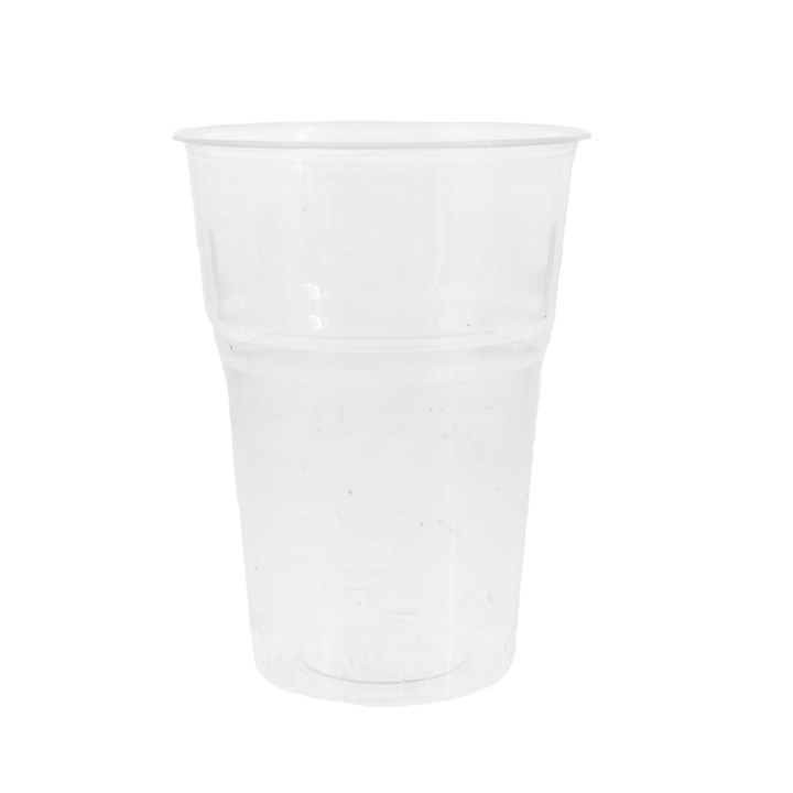 Compostable Pla Clear Pint Glasses