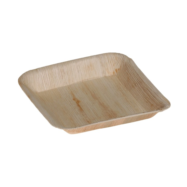 Naturesse Palm Leaf Compostable Disposable Square Plate 16 X 24Cm