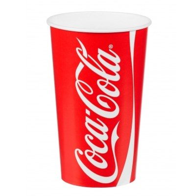 16OZ COCA COLA DISPOSABLE PAPER COLD CUPS