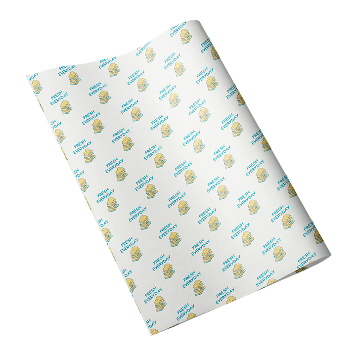 Fresh Every Day Printed Greaseproof Paper Sheets 14 X 18 Inch