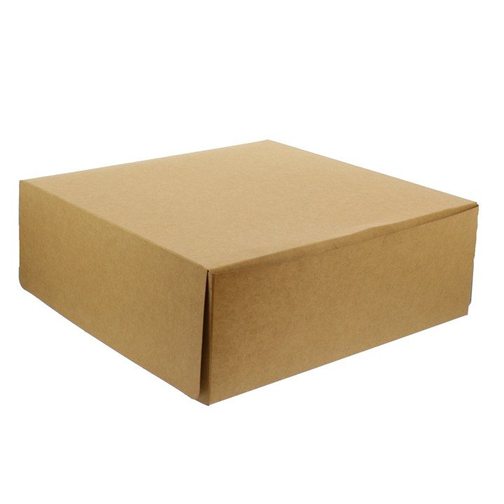 Kraft Brown Cake Box 10 X 10 X 4 Inch