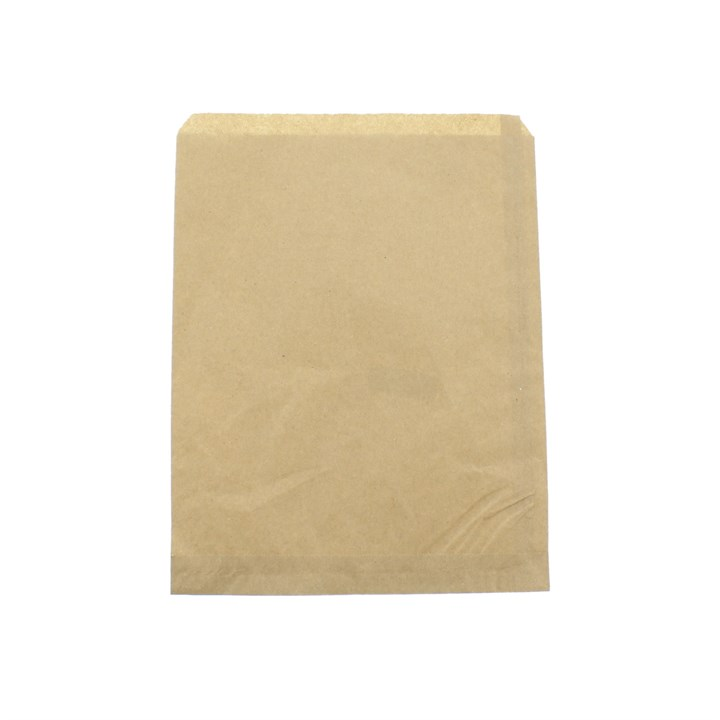 Flat Brown Kraft Paper Bags 8.5 X 11 Inch