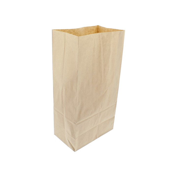 Brown Paper Sos Grab Bag 7 + 4 X 13.5 Inch