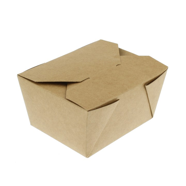 No. 1 750Ml Leaf Kraft Deli Food Boxes