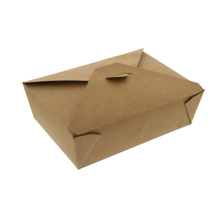 NO. 3 1800ML LEAF KRAFT DELI FOOD BOXES