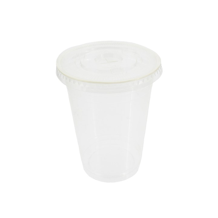 Pla Compostable Flat Smoothie Cup Lid