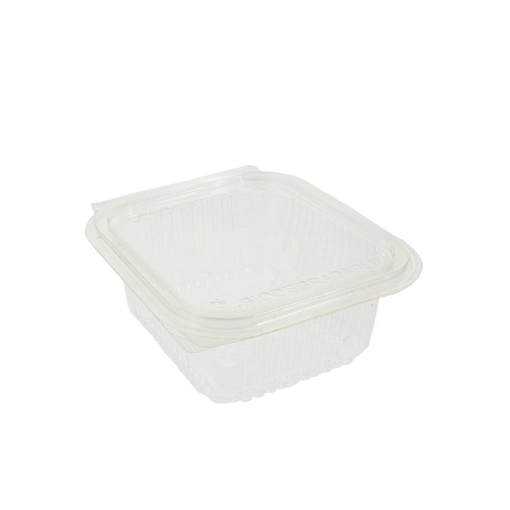 500Cc Clear Compostable Pla Salad Container