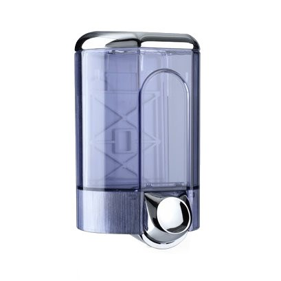 CHROME WALL MOUNTED HAND SOAP DISPENSER WITH LOCK 1.1 LITRE