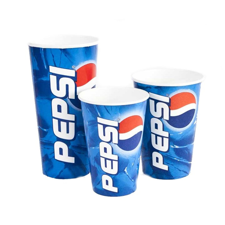 16Oz Pepsi Disposable Paper Cold Cups