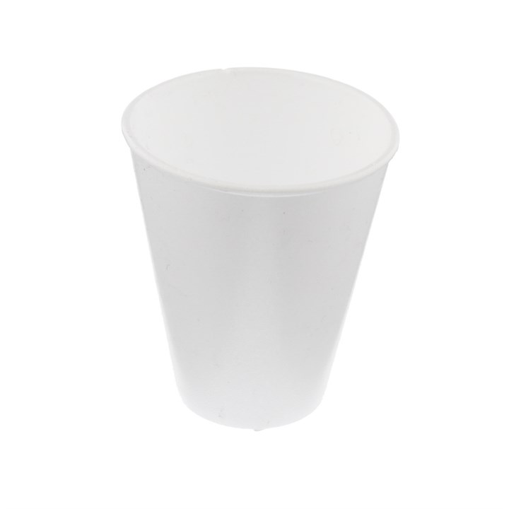 10OZ WHITE FOAM POLYSTYRENE DISPOSABLE CUPS