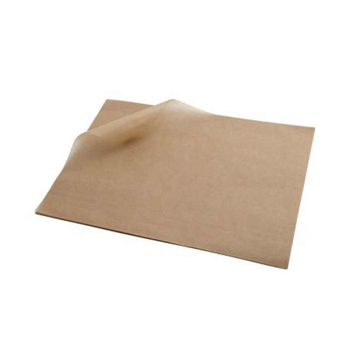 350 X 450Mm Kraft Greaseproof Sheets