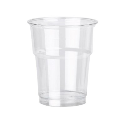12Oz Clear Pet Plastic Smoothie Cups