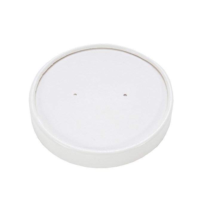 12Oz White Soup Food Cup Lids