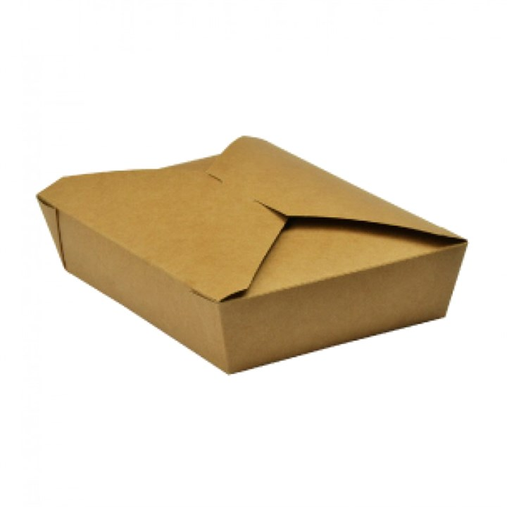 LARGE KRAFT DELI FOOD BOXES NO.2 1400ML