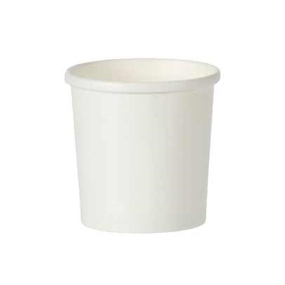 16Oz White Soup Food Cups