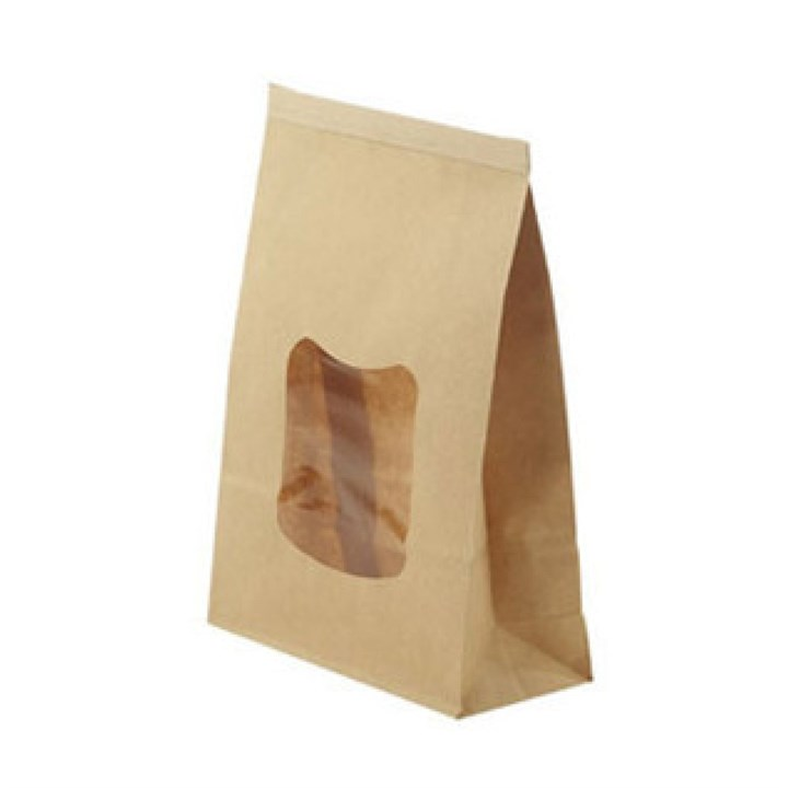 Kraft Window Paper Bags