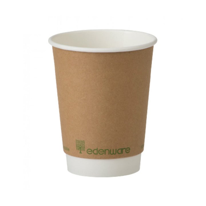 12Oz Edenware Bio Double Wall Cup