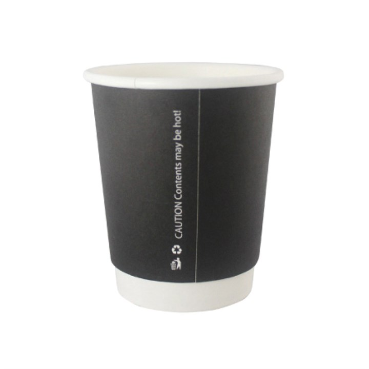 Black Double Wall Cups