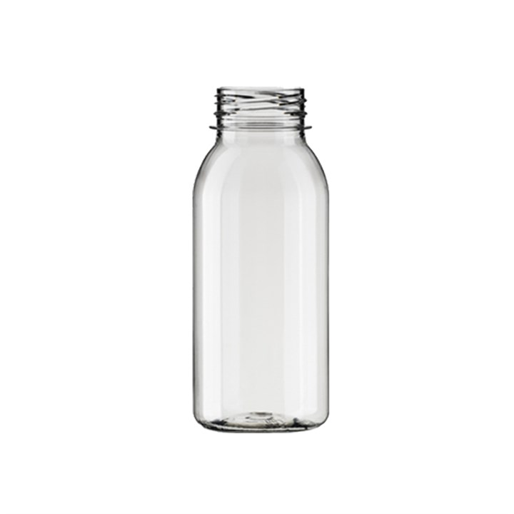 500Ml Bella Round Pet Juice Bottle - No Lids