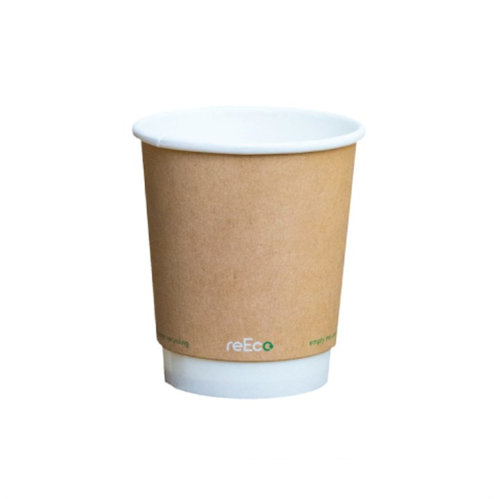 8Oz Re-Eco Recyclable Double Wall Cup