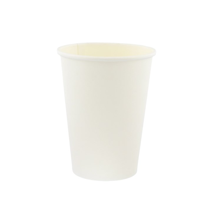 8OZ WHITE SINGLE WALL CUPS