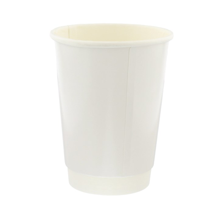 White Double Wall Cups