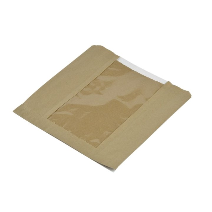 10 X 10 Inch Film Front Kraft Bag
