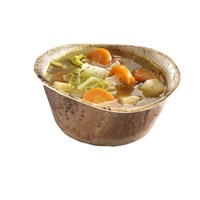 Naturesse Palm Leaf Compostable Disposable Round Soup Bowl 500Ml 14.2Cm