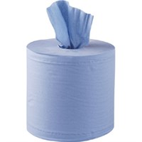 BLUE CENTREFEED ROLL 2PLY 120M