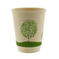 16Oz Treefree Sugarcane Double Wall Cups
