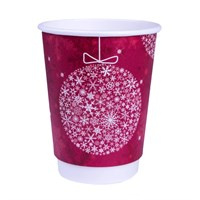 12Oz Christmas Double Wall Cup