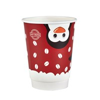 12OZ PENGUIN CHRISTMAS DOUBLE WALL COFFEE CUP